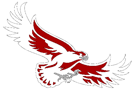 Red hawk cliparts clip art library