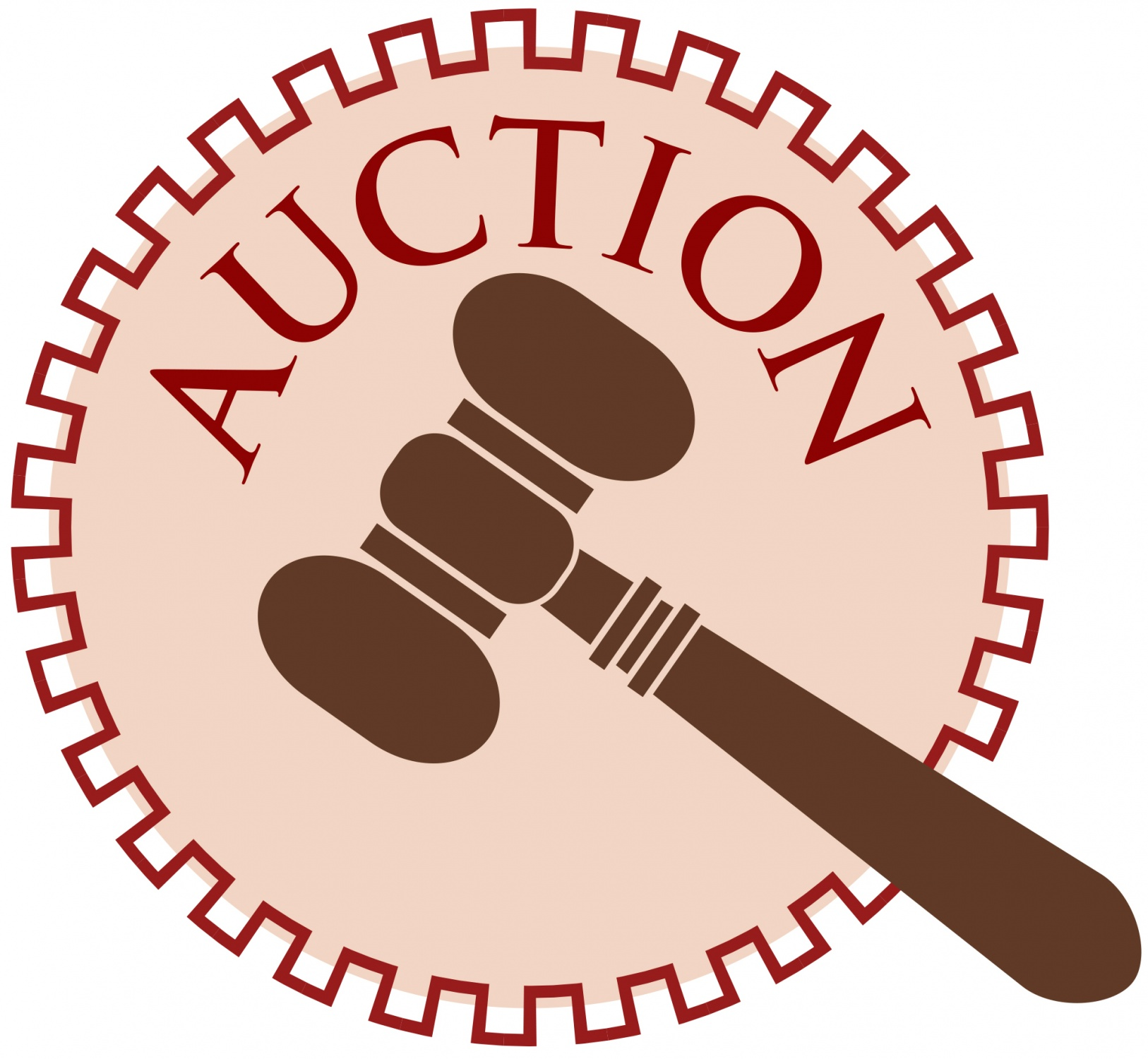 Auction gavel clipart images