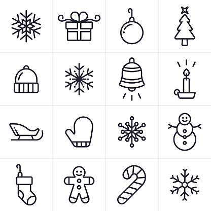Christmas ornament black and white christmas clipart 2