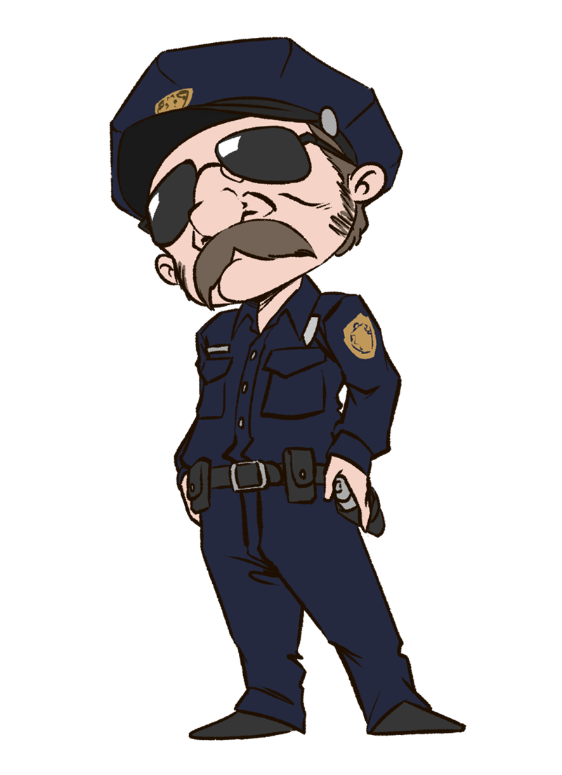 Clip art police officer uniform clipart kid 2 2