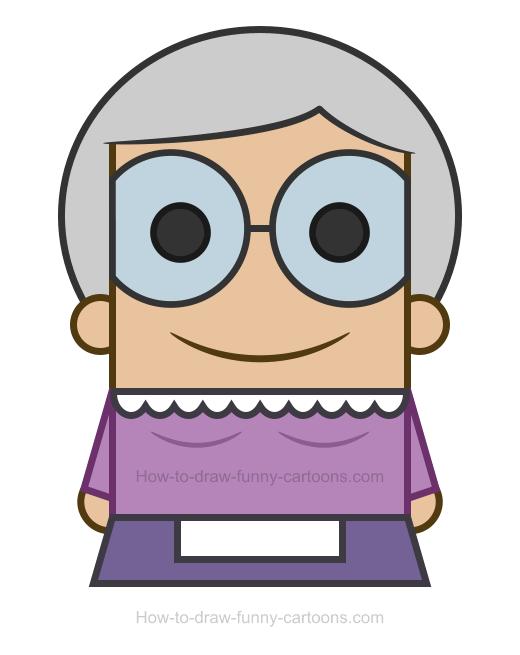Grandma clipart 2