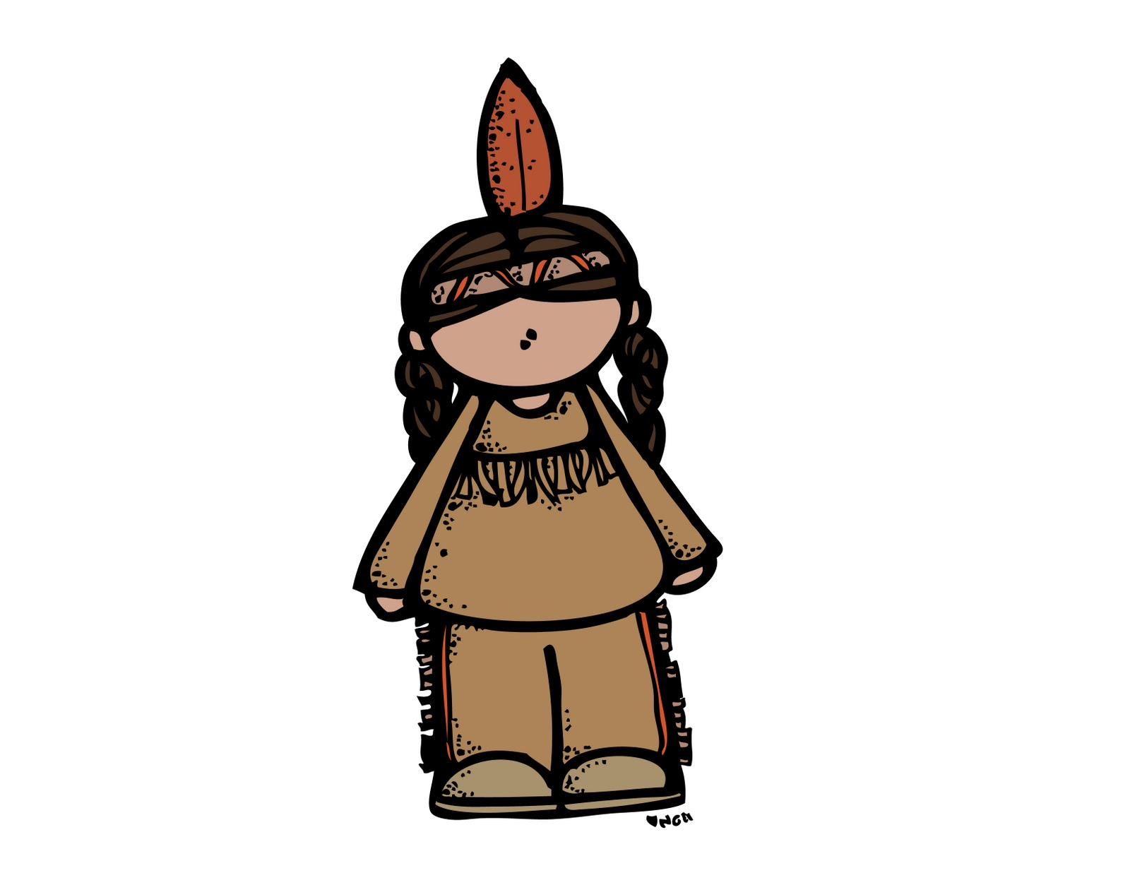 Pilgrim clipart melonheadz pencil and inlor pilgrim