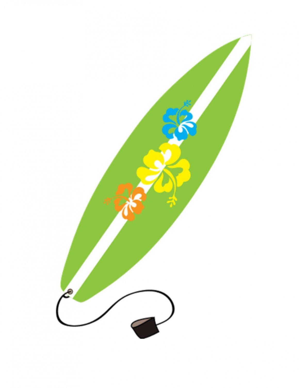 Surfboard clip art 3 image clipartix