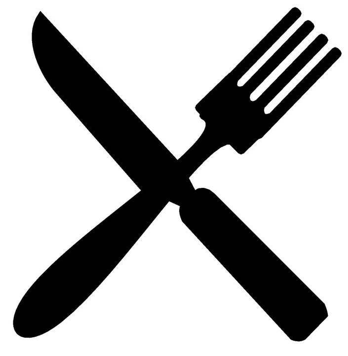 Knife and fork clipart 3