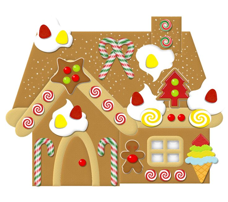 Gingerbread house clip art free download