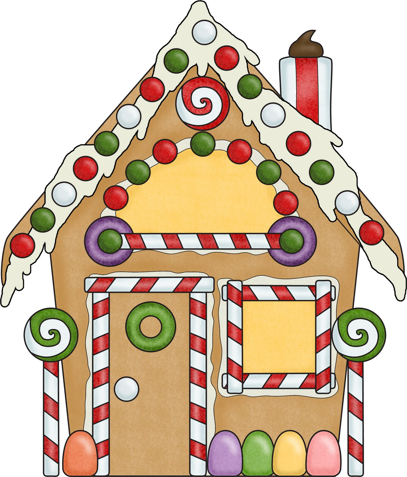 Gingerbread house cliparts free download clip art