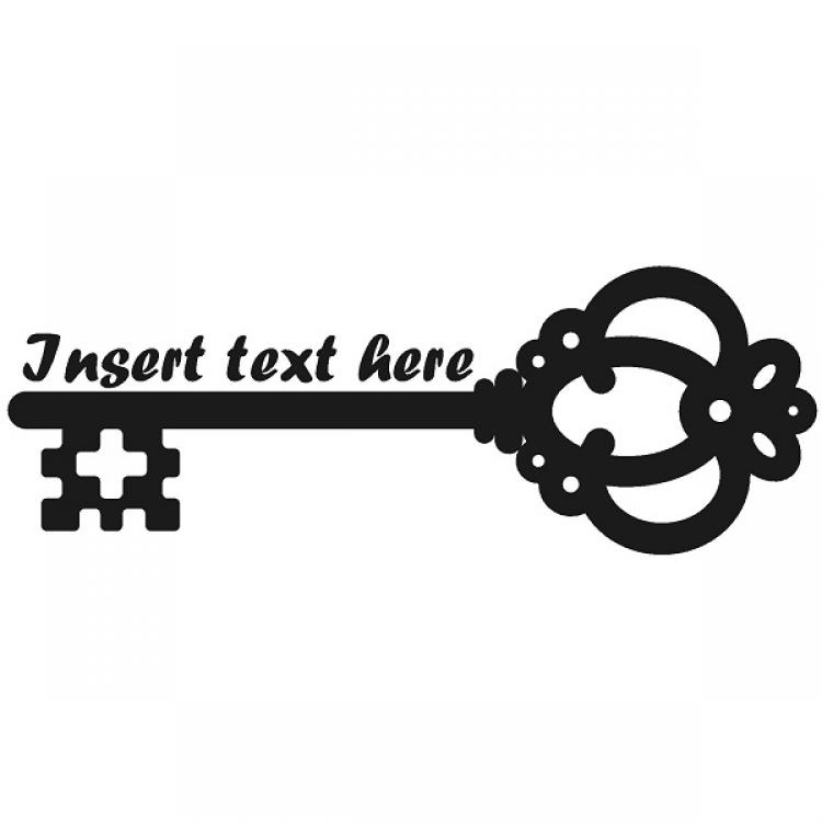 Insert text area skeleton key clipart the cliparts