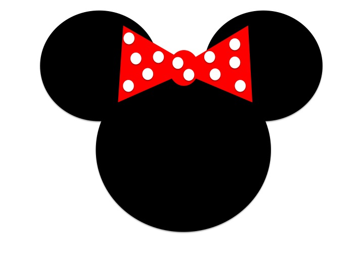 Minnie mouse head 8 clip art