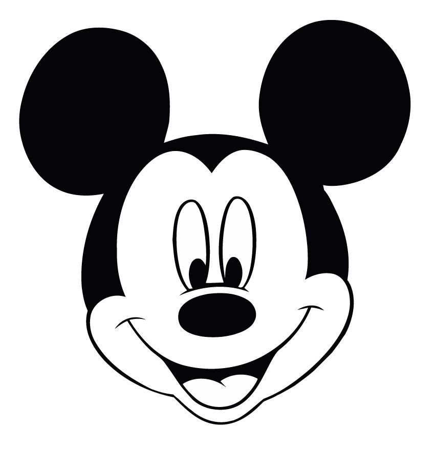 Minnie mouse head make pictures out of text mickey mouse art clipart and free