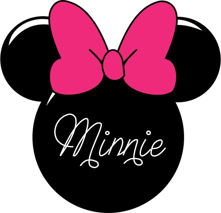Minnie mouse head mickey mouse clipart tie pencil and inlor mickey mouse