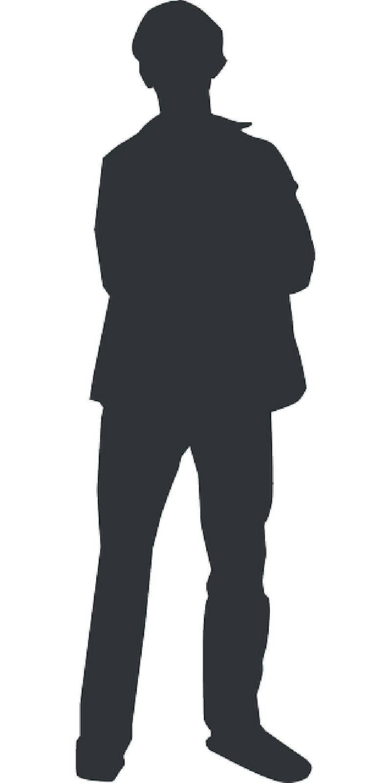 Person outline outline man silhouette person human standing public domain