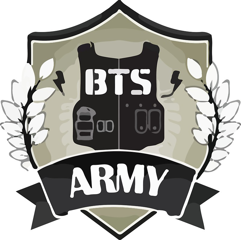 Bts army logo stickers by breezefrozen redbubble jpg