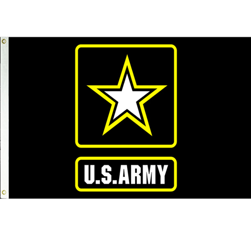 Army logo ft outdoor flag jpg