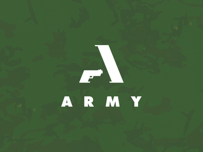 Army logo by leologos smart logos designer dribbble png
