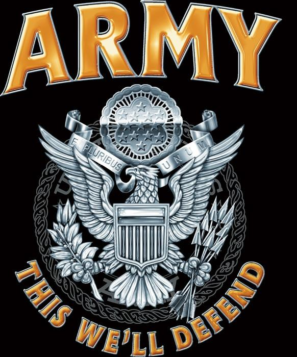 Black army this we'll defend shirt with us army logo jpg