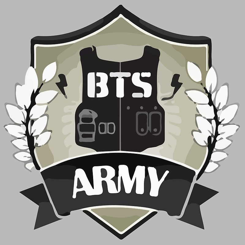 Bts army logo scarves by breezefrozen redbubble jpg