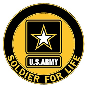 Soldier for life decal us army logo automotive jpg