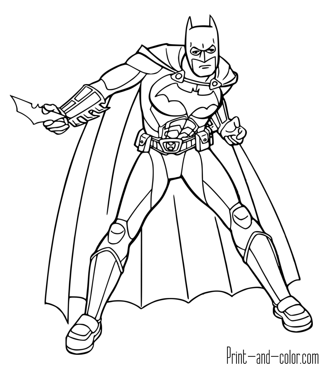 batman coloring pages Batmanloring pages print andlor png