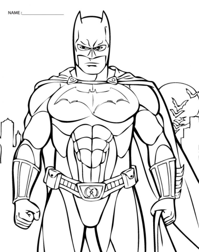 batman coloring pages Free printable batmanloring pages png