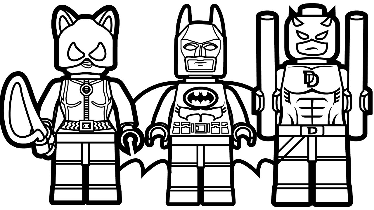 batman coloring pages Lego batmanloring pages jpg