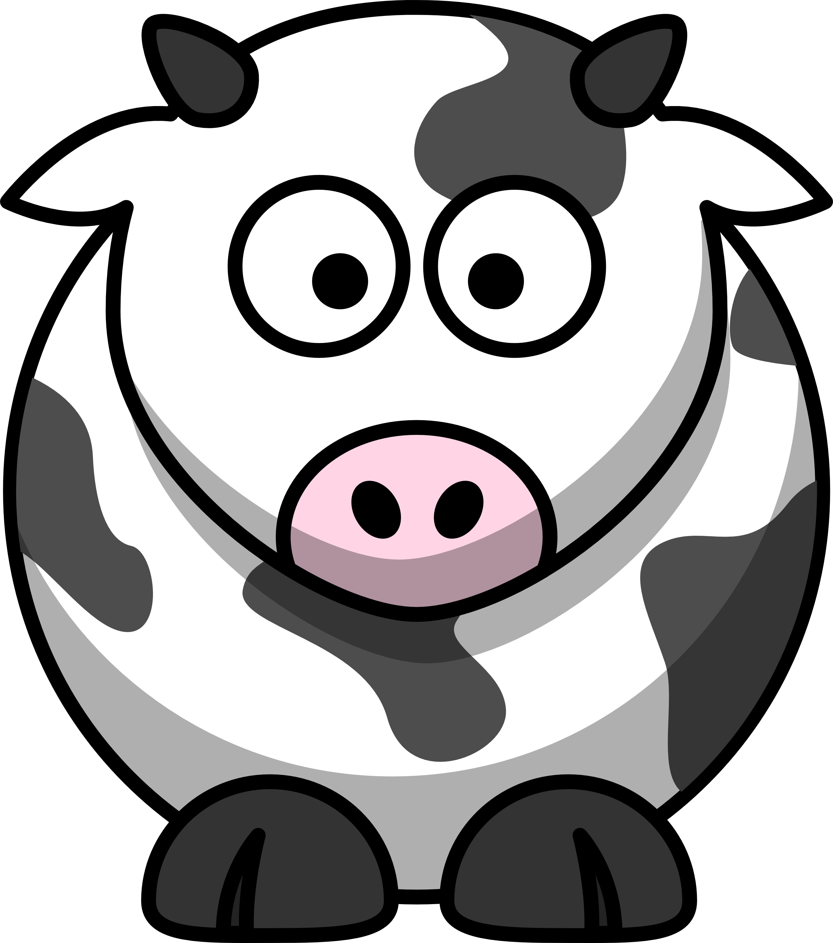 cartoon cow Cartoonw images free download clip art on jpg