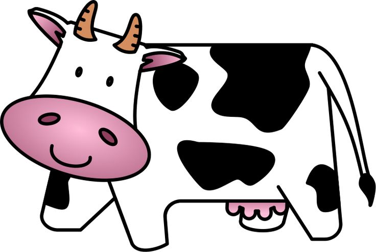 cartoon cow Cow cartoon clipartw baby free clipartix jpg