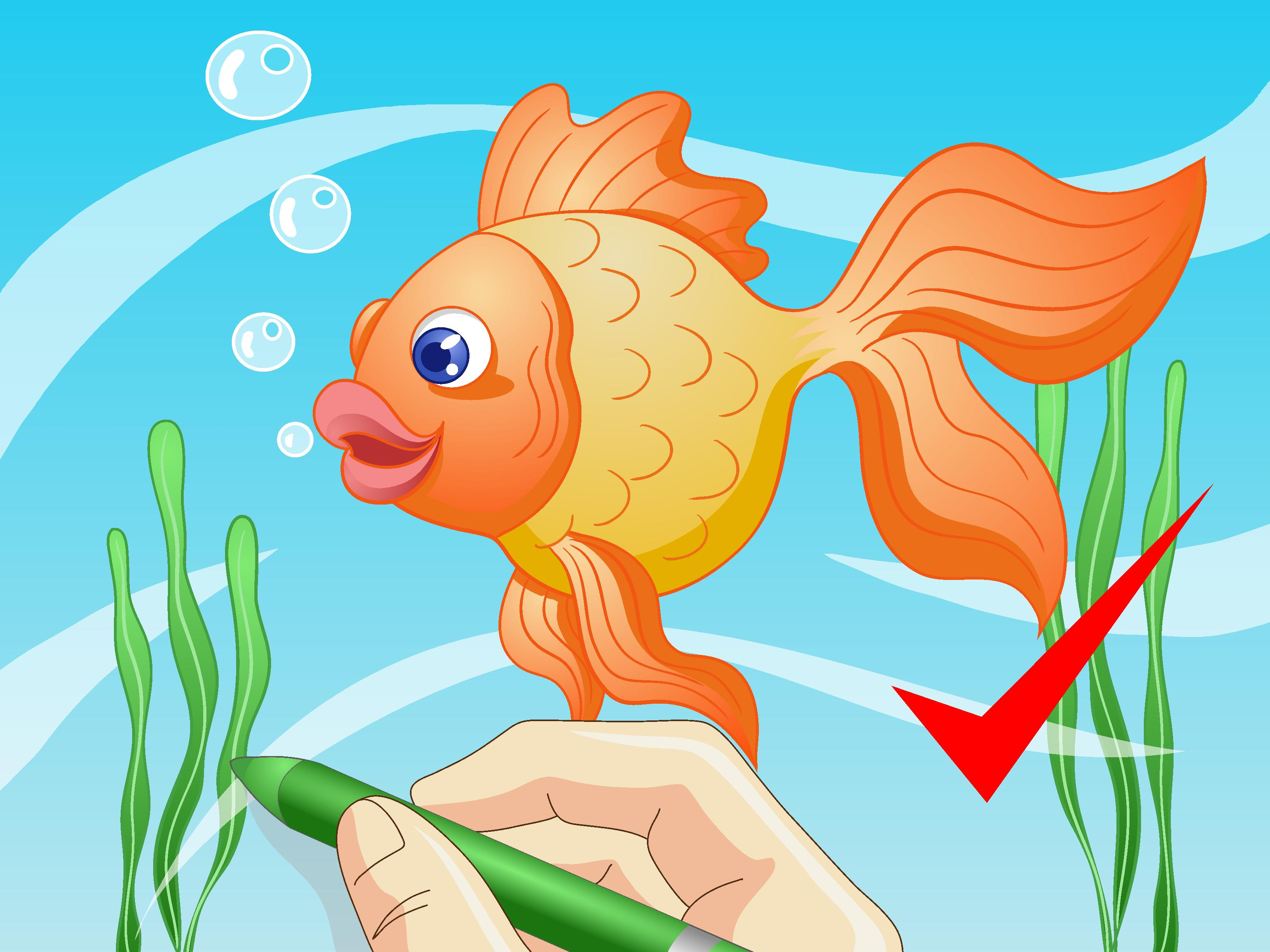 How to draw a cartoon fish 8 st with pictures wikihow jpg