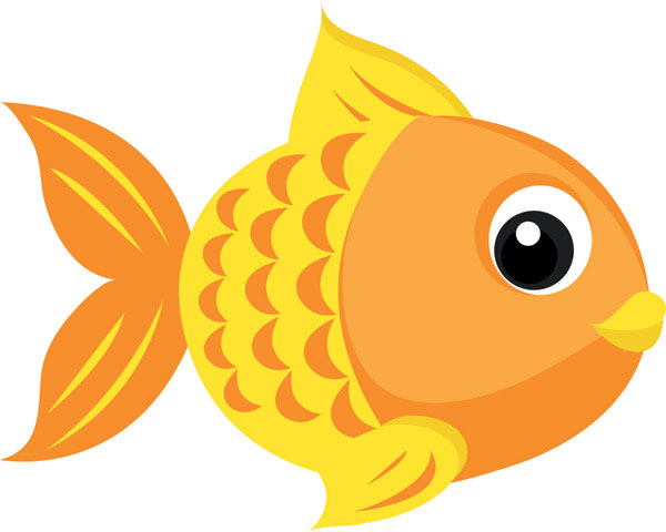 cartoon fish Cute fishing cartoons goldfish vector 4 download free vector 3d jpg