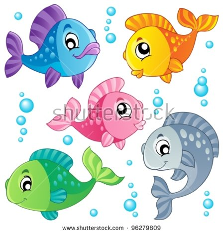 cartoon fish Free cute fishing clipartllection jpg