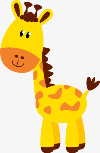 cartoon giraffe Cute giraffe zoo animal giraffe cartoon image for jpg