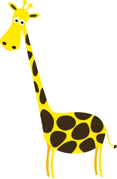 Cartoon giraffe clip art free vector in open office drawing svg jpg