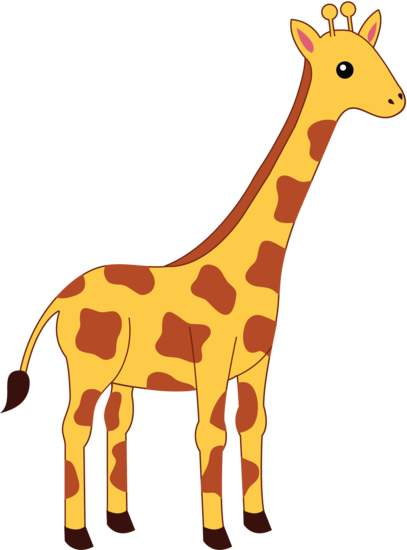 Cartoon giraffe face clipart free download jpg