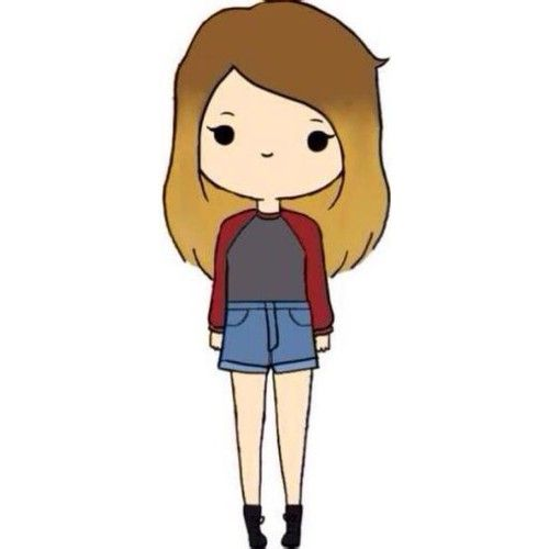 cartoon girl Kawaii girl drawing ideas on chibi jpg 2