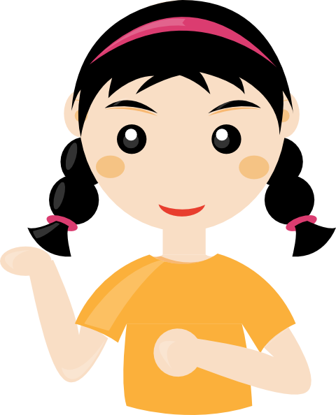 cartoon girl Girl cartoon clip art at vector clip art png