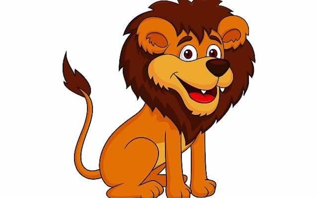 Cartoon lion jpg