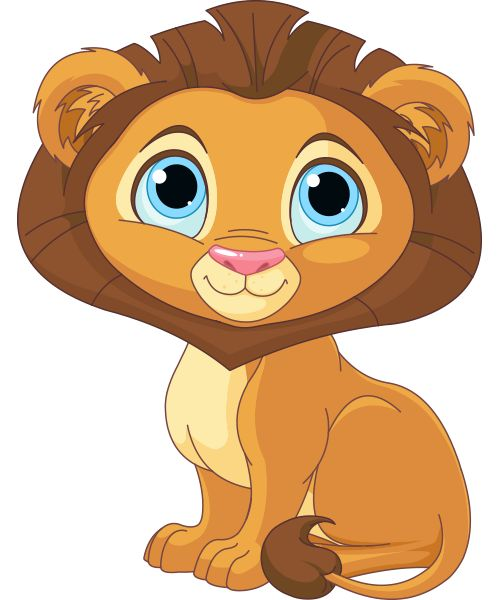 cartoon lion Drawn child lion pencil and inlor drawn jpg