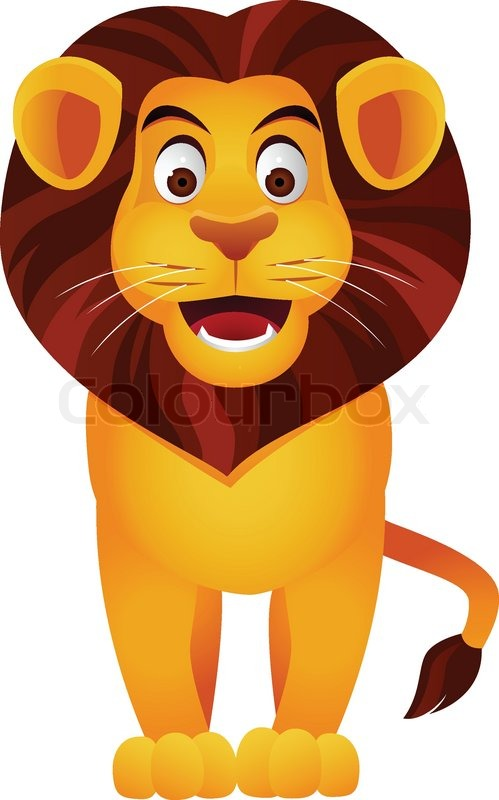 cartoon lion Lion cartoon stock vector lour jpg