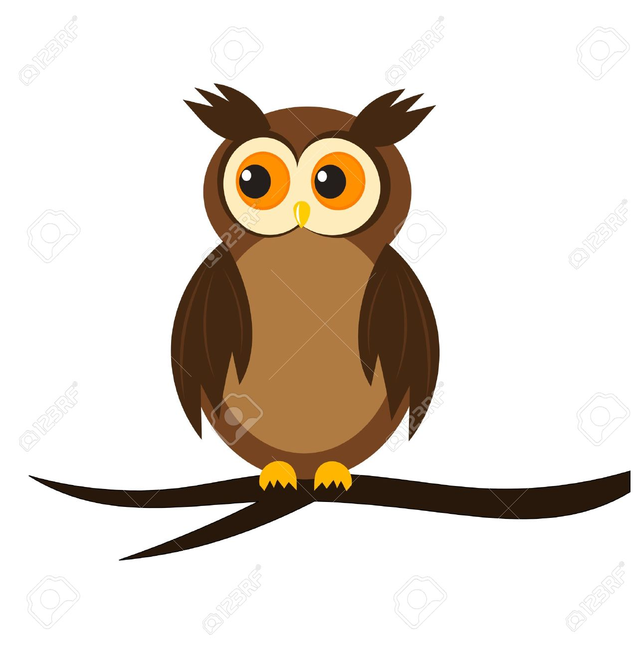 Cartoon owls group jpg