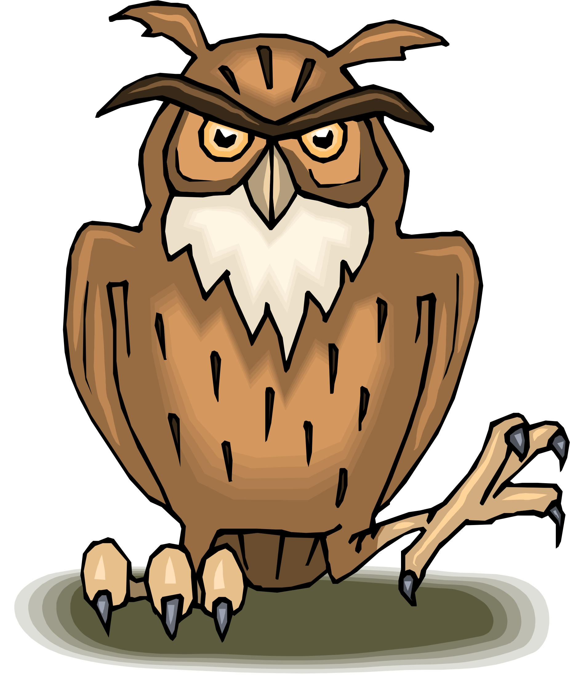 cartoon owl Cartoon picture of an owl free download clip art jpg