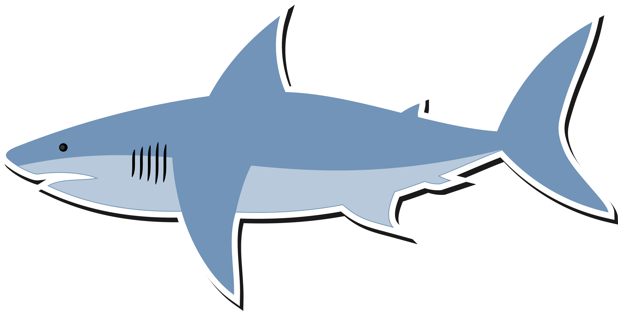 Clipart cartoon shark png 2