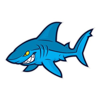 Cartoon shark free download clip art on jpg