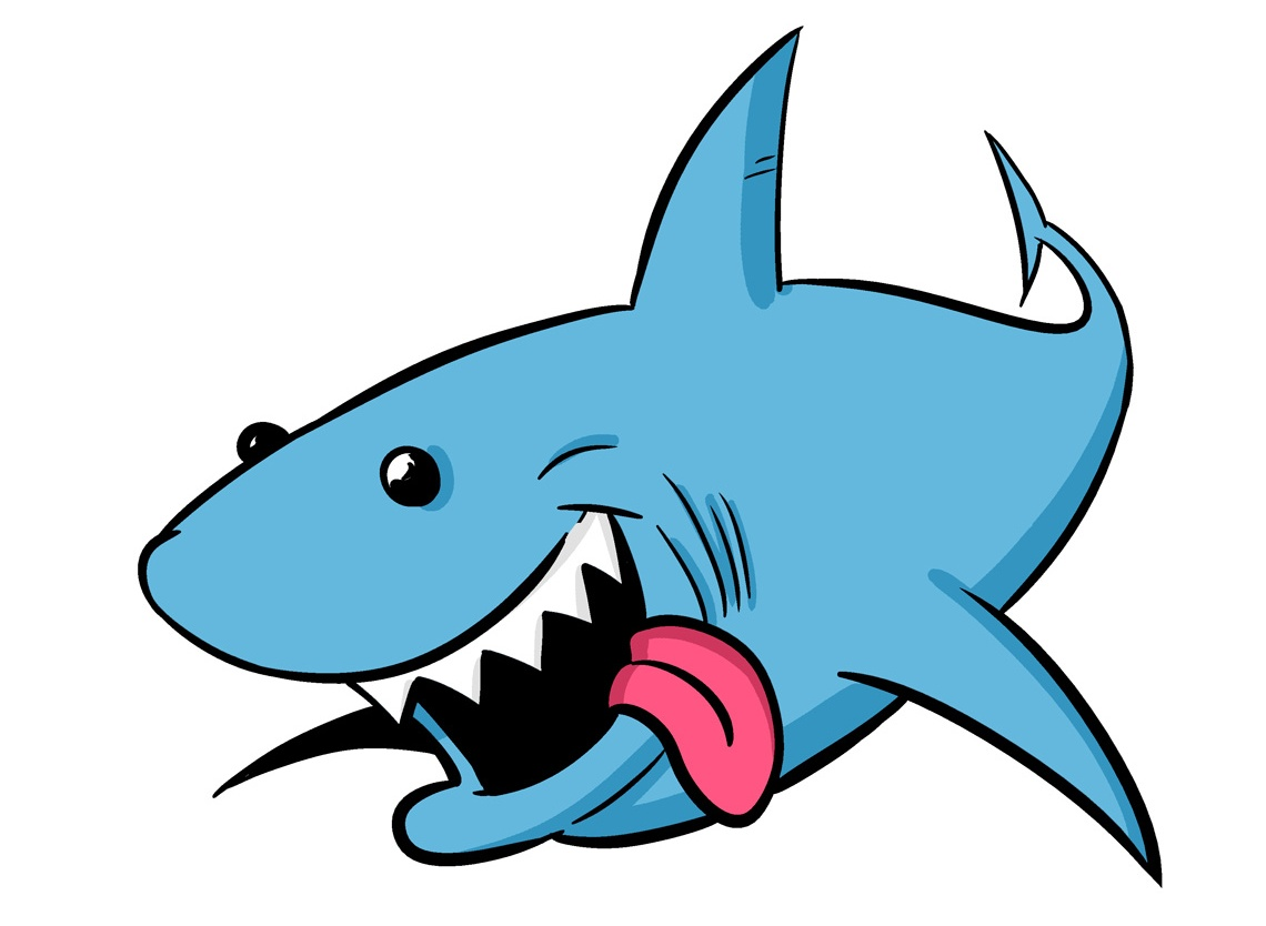 cartoon shark Top shark clip art free clipart spot jpg