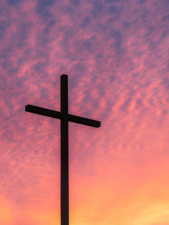 cross picture Free photo cross sky clouds sunset dusk image on jpg