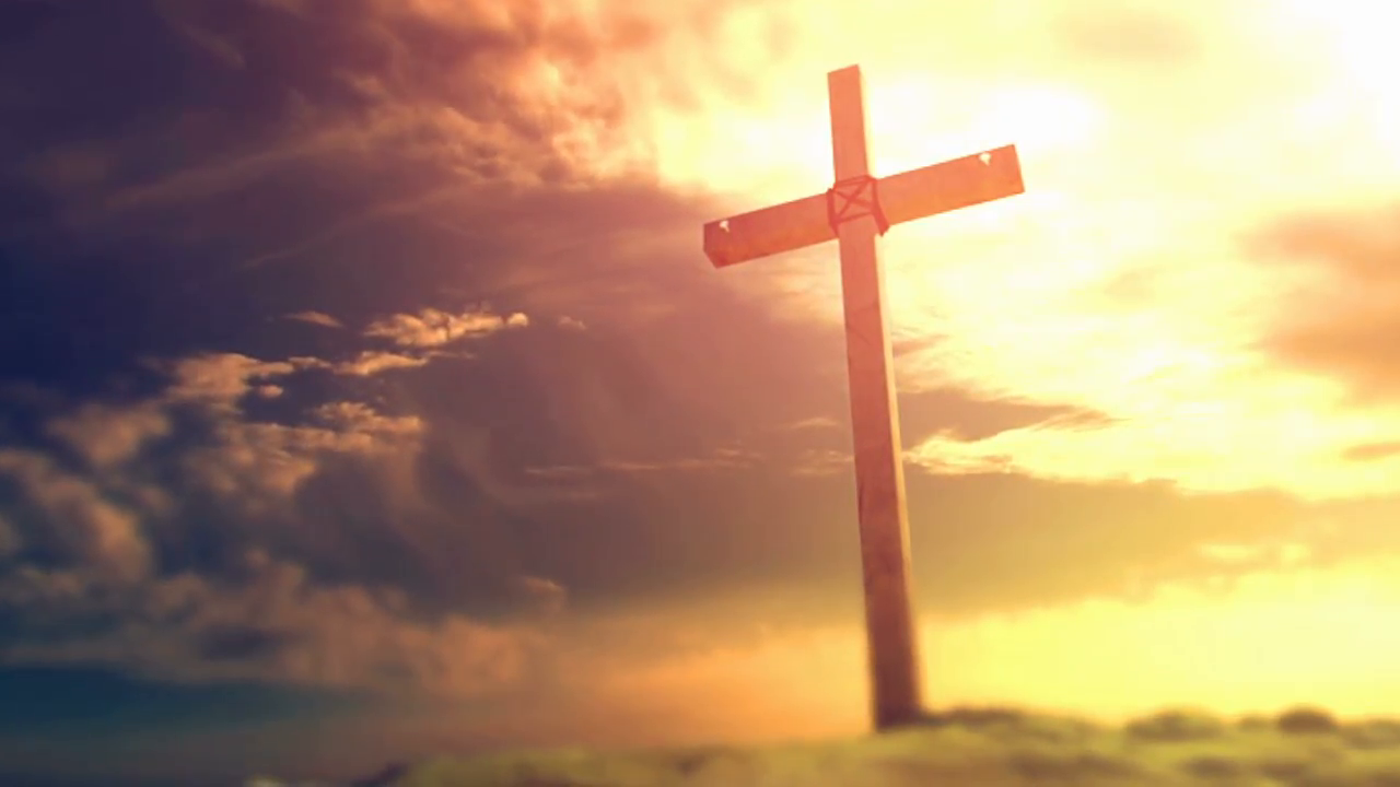 cross picture Crucifixion cross background stock video footage videoblocks png