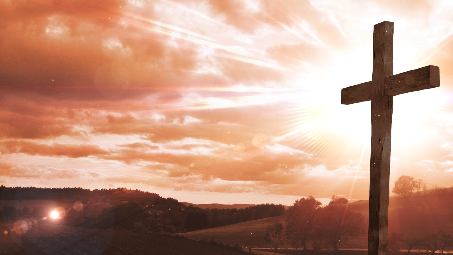 cross picture Easter cross worship background loop motion graphics jpg