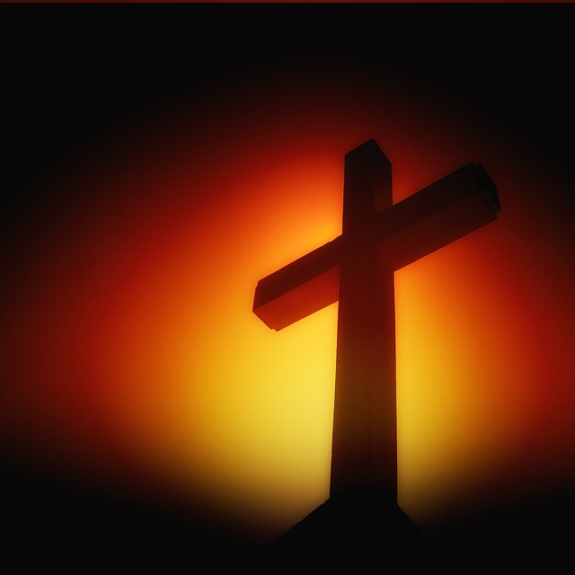 cross picture Free illustration cross sunset sunrise crucifixion jpg