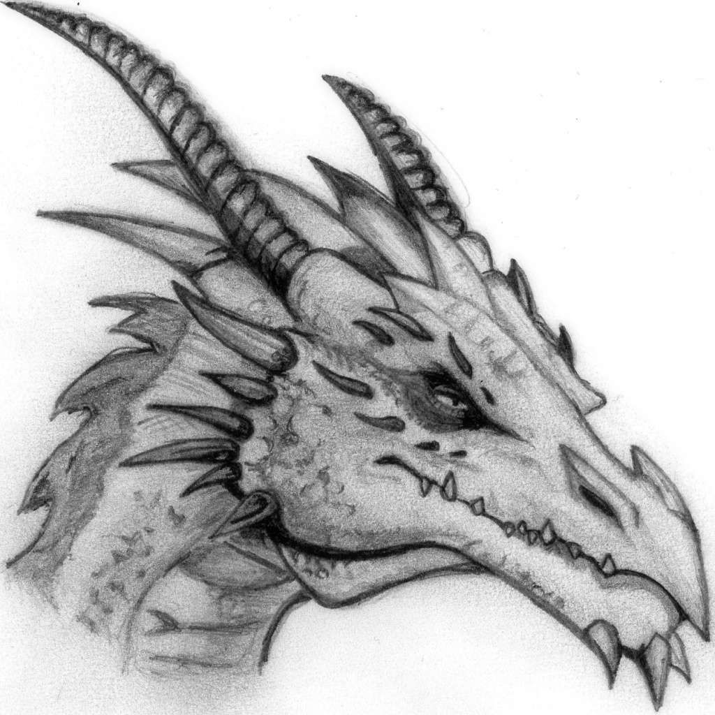 Dragon drawing dragon drawing by arkaedri how to draw a jpg