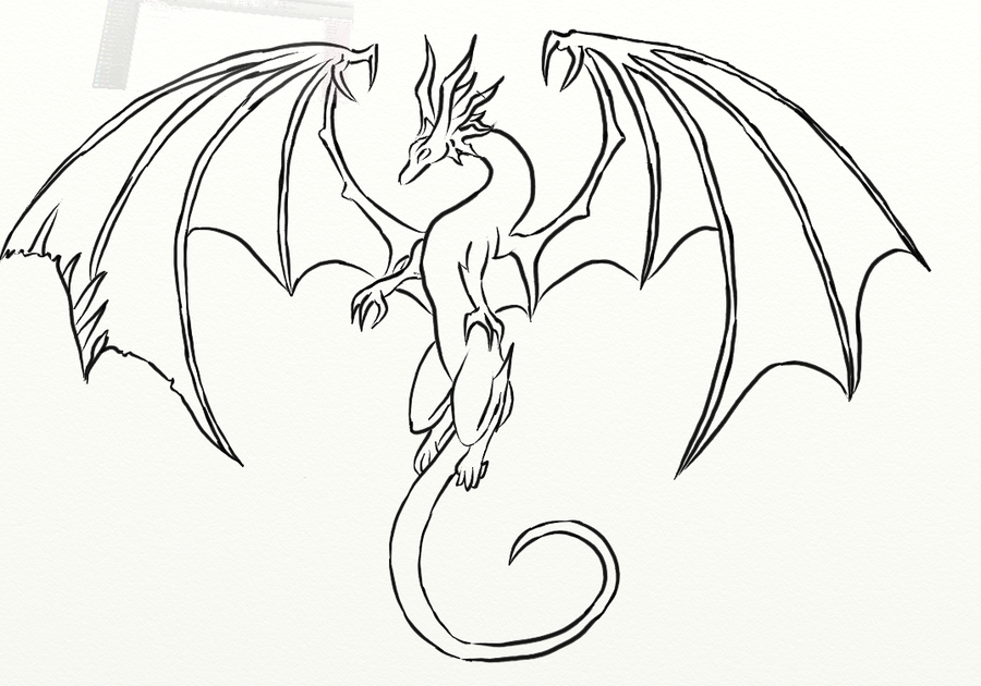 dragon drawing Flying dragon known in japan as is a fighting game with role png