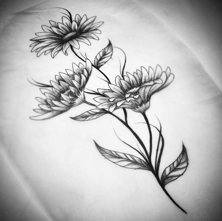 Flower drawings art ideas sketches design trends premium jpg