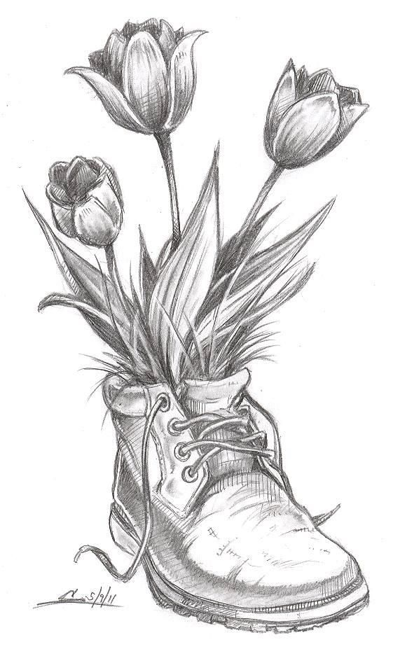 flower drawing Flower sketch drawings ideas on pretty jpg